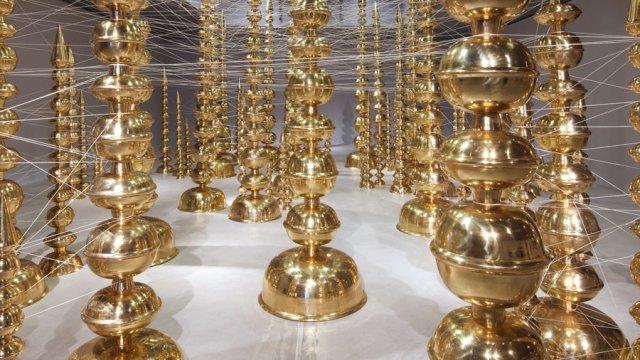 detail, Subodh Gupta, terminal