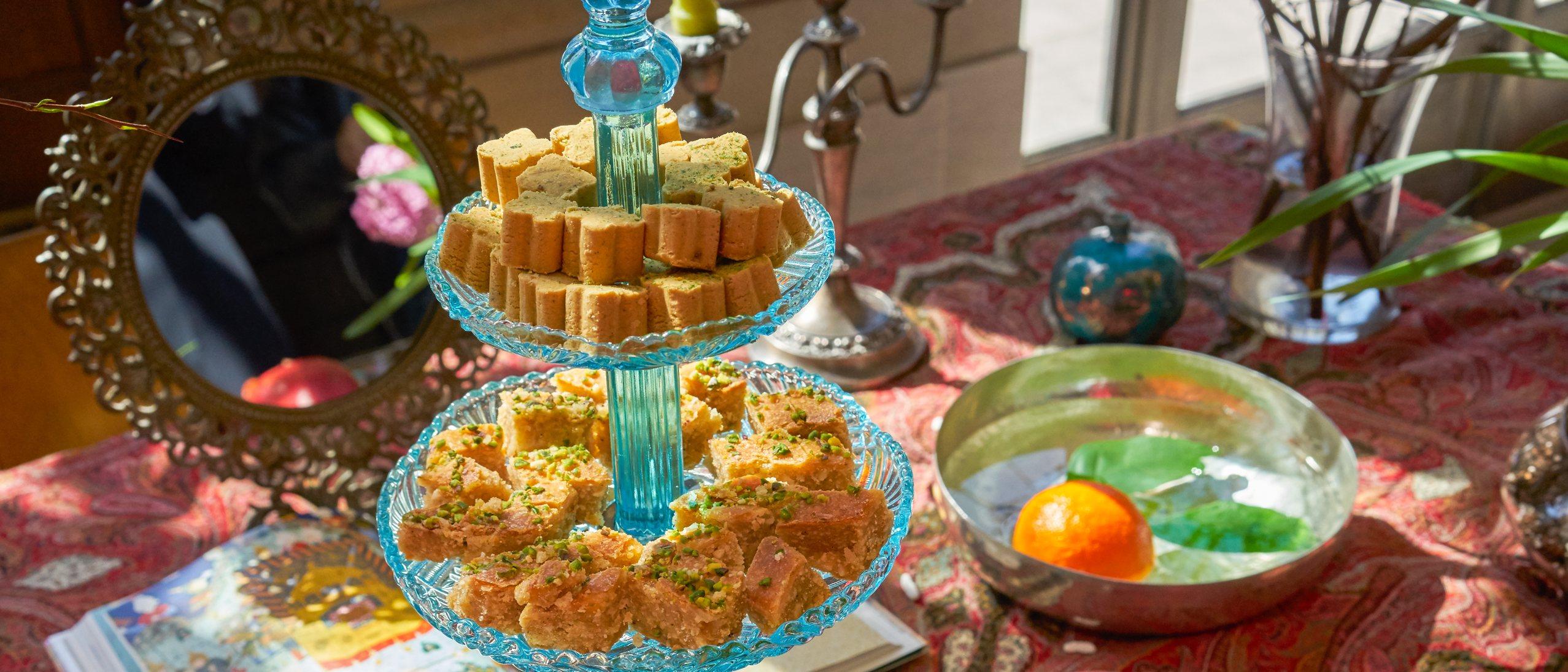Nowruz table setting