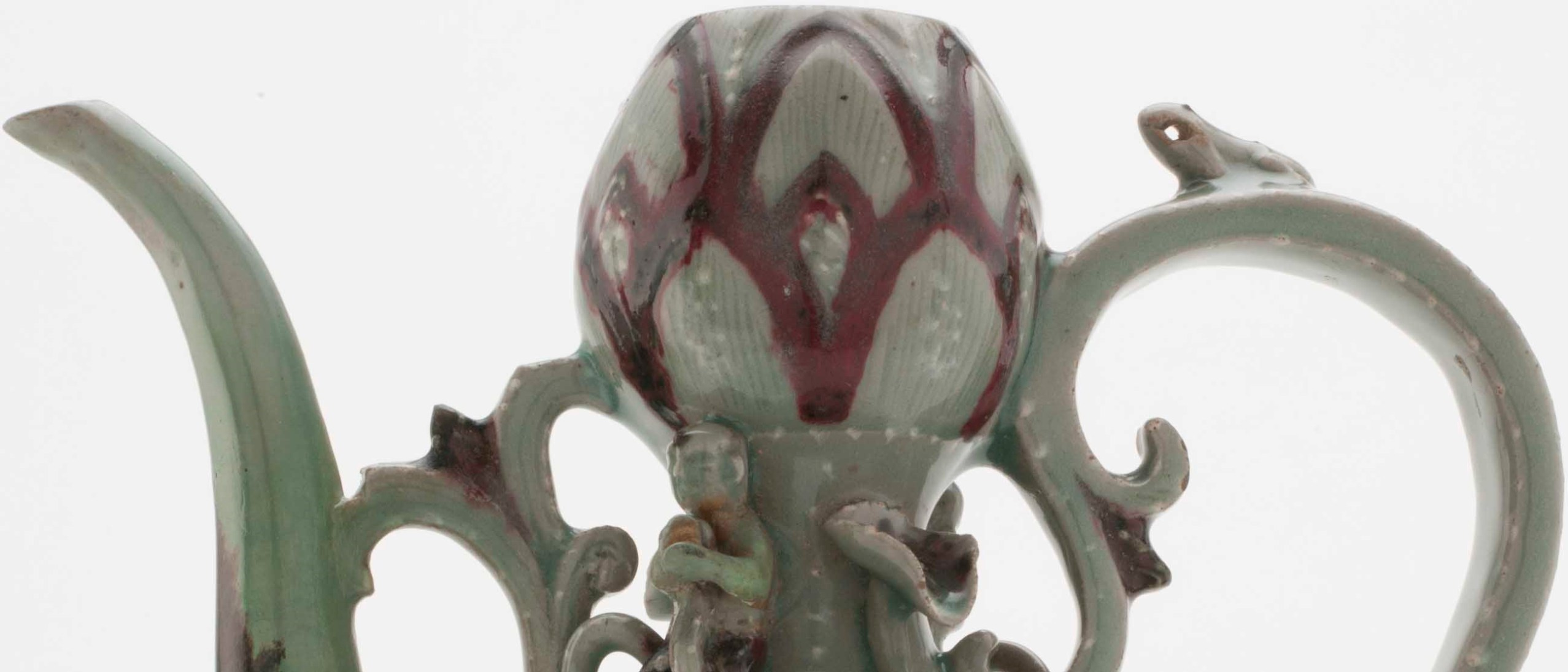 Photo of detail, Ewer, F1915.50