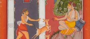 Detail, Sarang Raga from the Sirohi Ragamala Painting, F1992.18 image