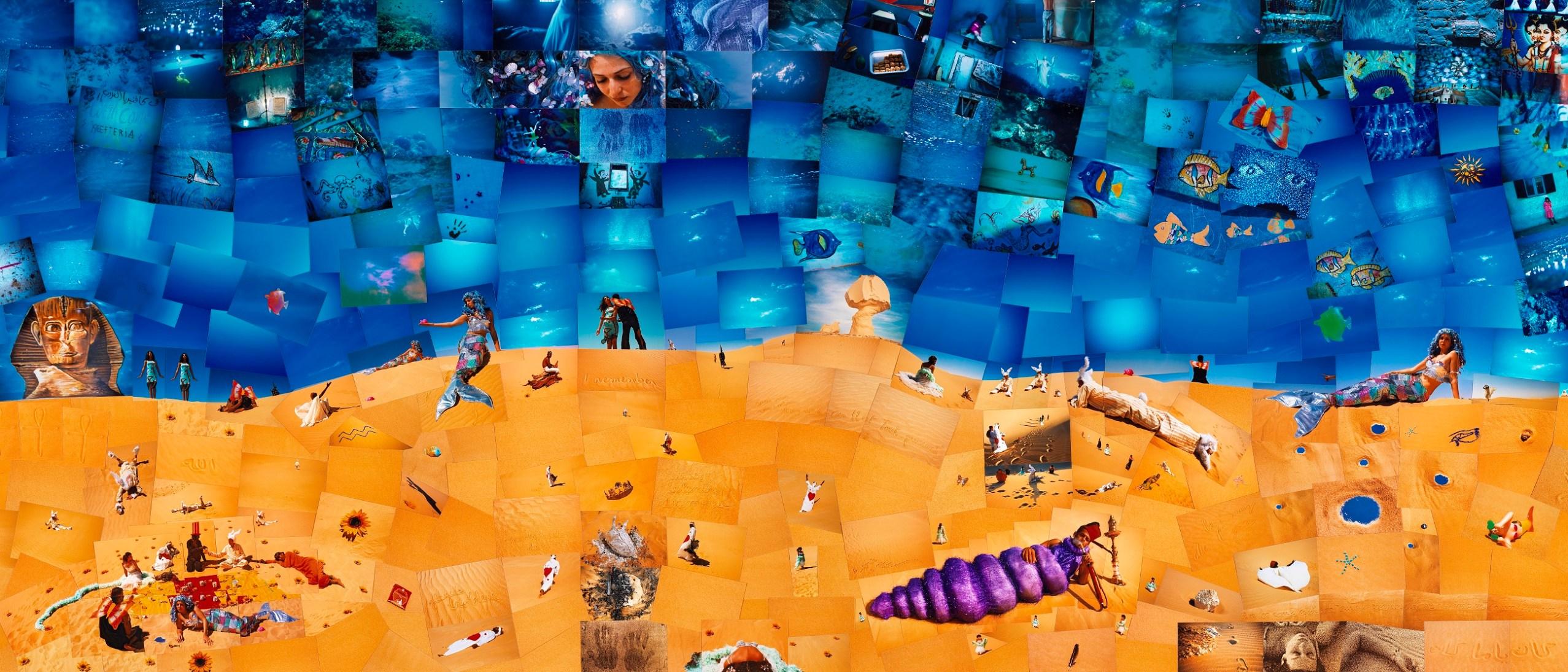 Detail image, Oum el Dounia Lara Baladi (b. 1969, Beirut) Belgium, 2000–2007 Wool and cotton Courtesy of the artist