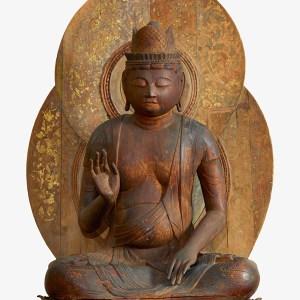F1962_21 carved wooden bodhisattva
