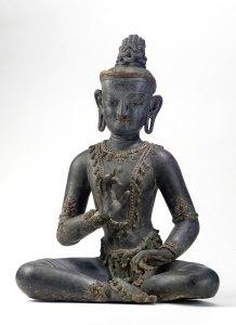 A seated bodhisattva