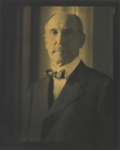 Portrait of Charles Lang Freer by Edward Steichen.