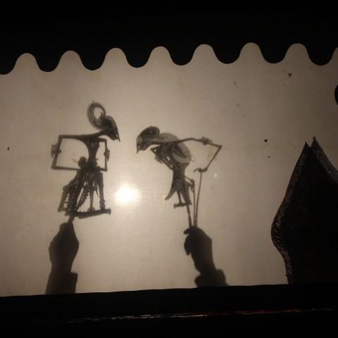 All Night Shadow Puppet Performance Wayang Kulit Tembi Rumah Budaya Near Yogyakarta Central Java