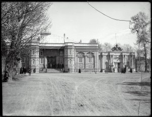 Sevruguin, Antoin,; b&w ; 23.8 cm. x 18.3 cm.; Myron Bement Smith Collection: Antoin Sevruguin Photographs. Freer Gallery of Art and Arthur M. Sackler Gallery Archives. Smithsonian Institution, Washington D.C. Gift of Katherine Dennis Smith, 1973-1985