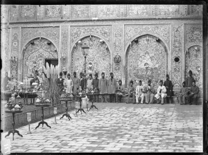 Sevruguin, Antoin,; b&w ; 17.7 cm. x 12.9 cm.; Myron Bement Smith Collection: Antoin Sevruguin Photographs. Freer Gallery of Art and Arthur M. Sackler Gallery Archives. Smithsonian Institution, Washington D.C. Gift of Katherine Dennis Smith, 1973-1985