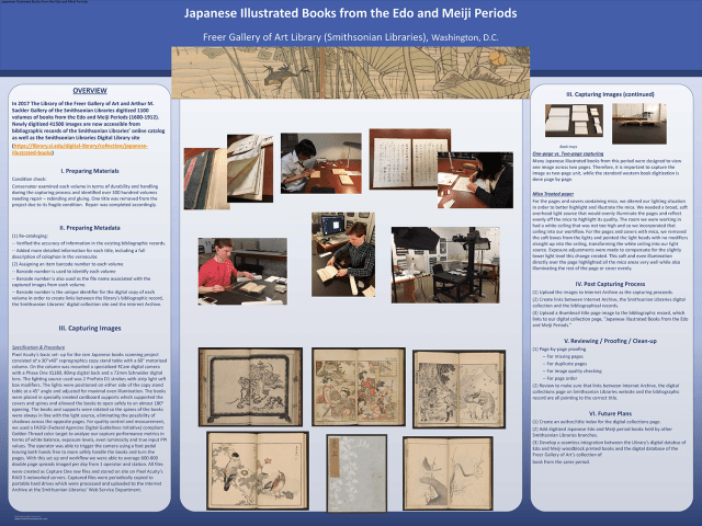 Poster presentation by Reiko Yoshimura and Kathryn Phillips