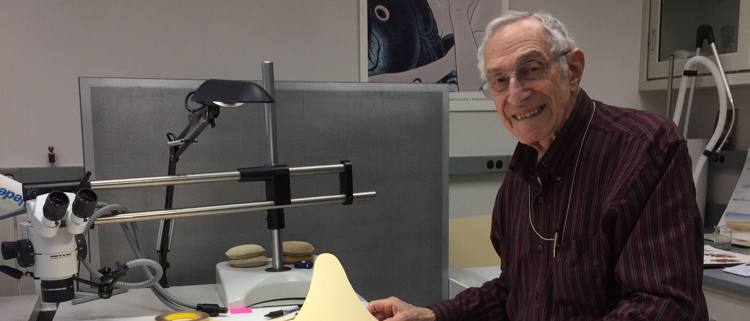 Larry Devore, Freer Sackler volunteer