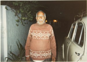 The author's driver in Dholpur.