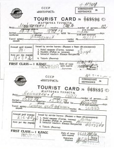 Tourist cards