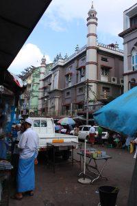 Mosque on sidestreet