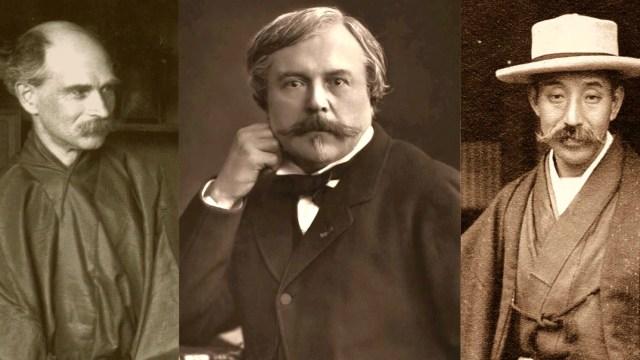 Sigfried Bing, Edmond de Goncourt, and Hayashi Tadamasa
