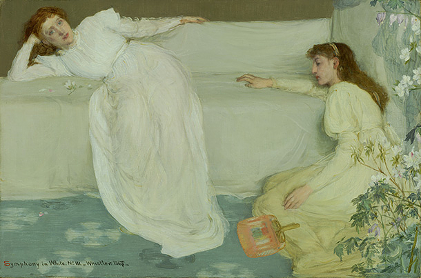 Symphony in White, No. 3