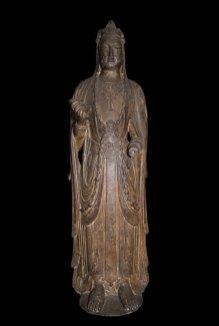 Standing Bodhisattva, probably Mahasthamaprapta (Dashizhi)