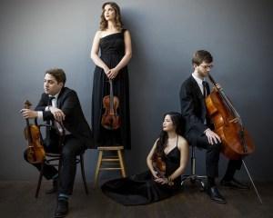 Aeolus Quartet. Image by Deborah Feingold