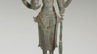 Sculpture of Vishnu