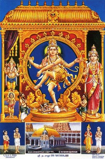 Poster of Shiva Nataraja