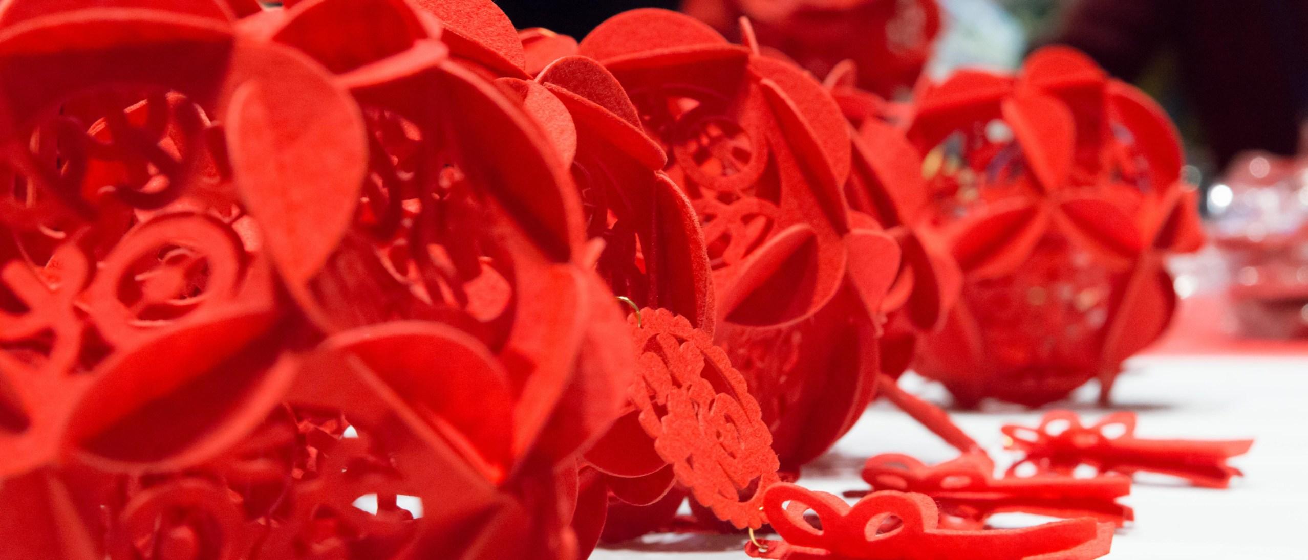 detail, red lanterns