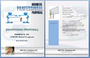 advertising proposal examples