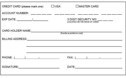 automatic payment authorization form template