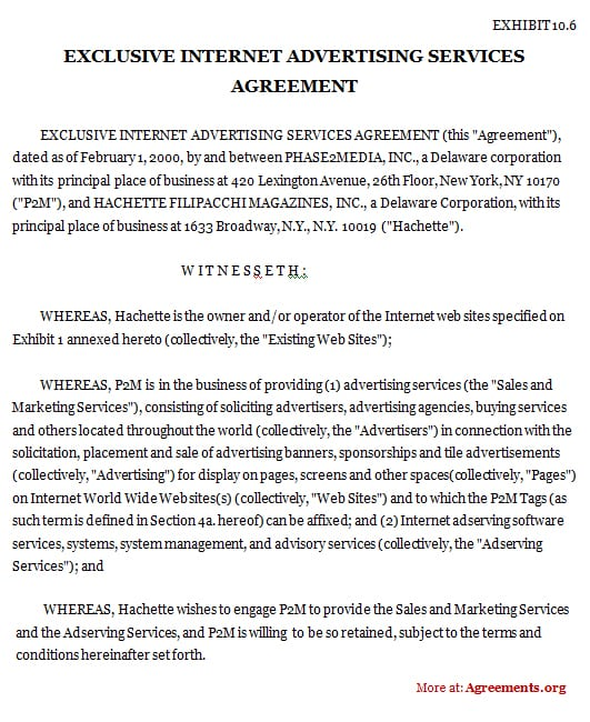 Contract Agreement Template Between Two Parties. 5 Contract Agreement Between  Two Parties Samples ...  Contract Sample Between Two Parties