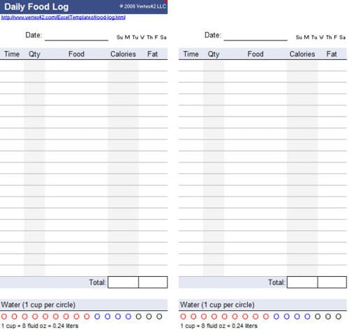 Daily Log Sheet Templates  Formats Examples In Word Excel