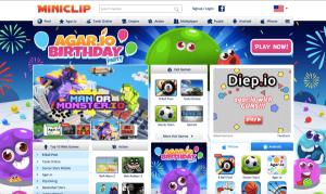 Flash game sites