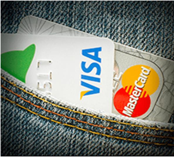 Credit card deposits at casinos
