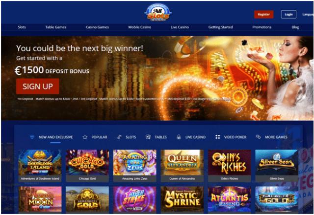 All Slots Casino New