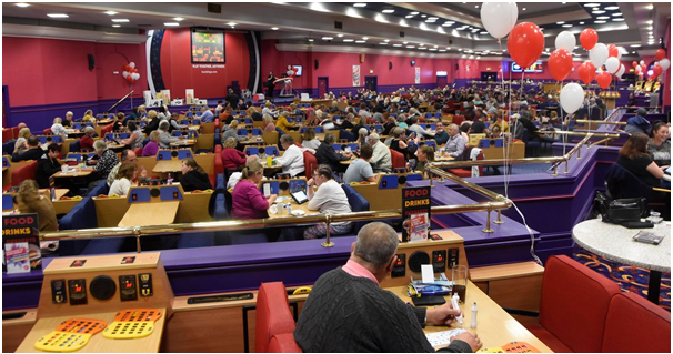 Bingo Hall in Ireland