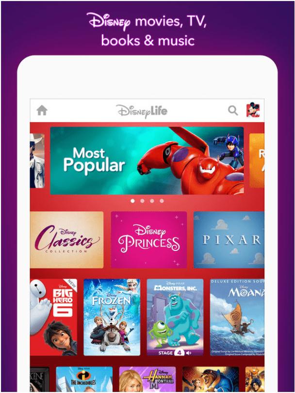 Disney life app features