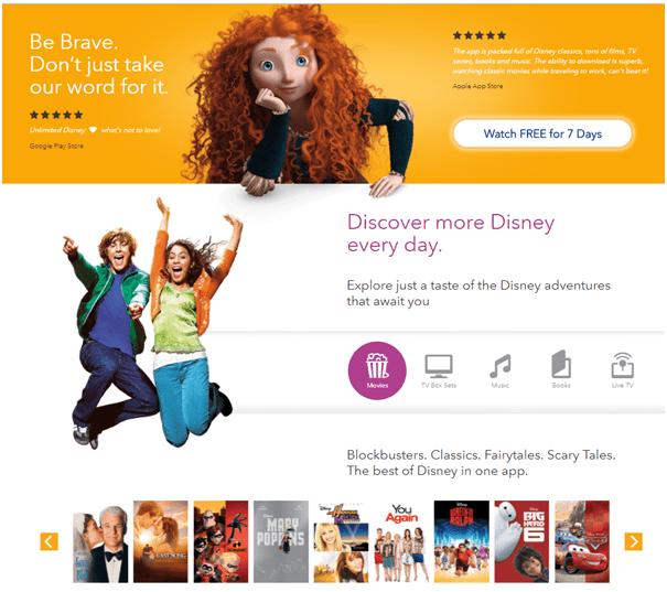 Disney life app songs