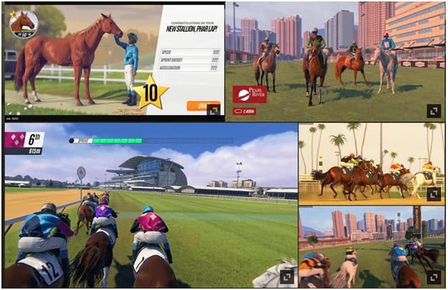 Phar Lap Horse racing app