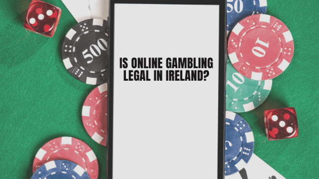 Is it legal to play at online casinos in Ireland