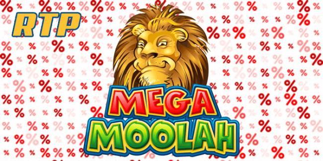 RTP & volatility in mega moolah slot