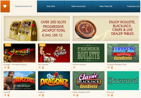 Royal Vegas Casino Ireland games