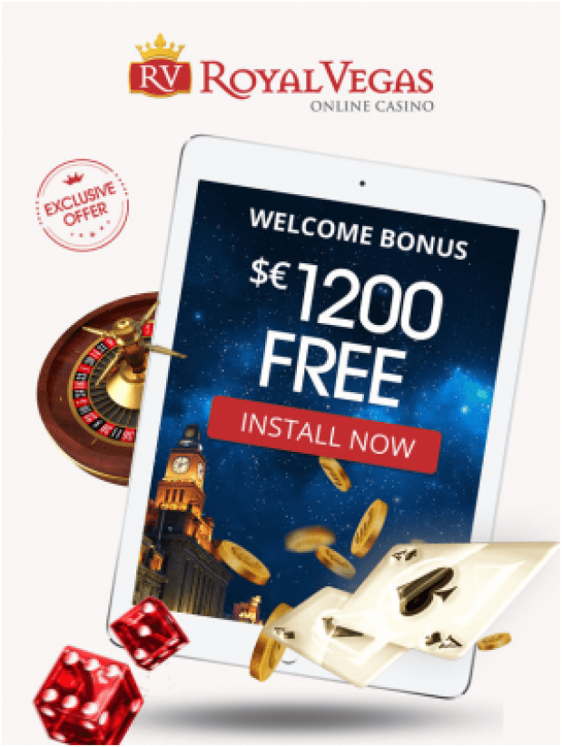 Royal Vegas Casino Ireland Bonus offers