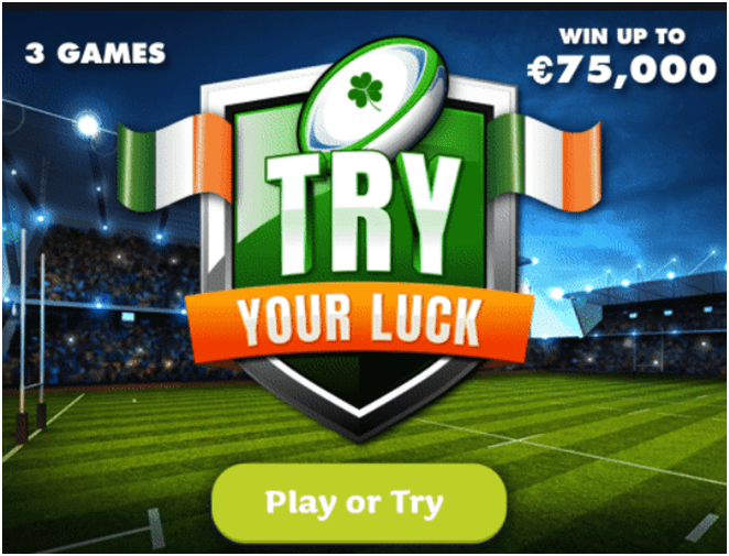 How to play Try Your Luck- The Instant Lottery in Ireland