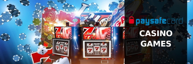 Use Paysafecard at regulated online casinos