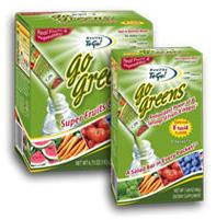 Free Samples of Go Greens Single Serving Drink Mix