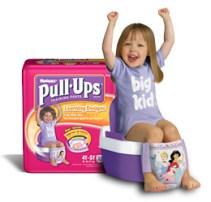 Free Samples of Huggies Pull-Ups & Clean Team Body Wash Sachet