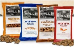Four Free Bags of HK Anderson Pretzels