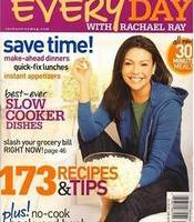 Every Day With Rachael Ray Magazine for $4.99 – New or Renewal