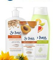 $0.75 off St Ives Printable Coupons