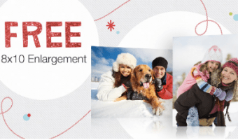 Free 8×10 Photo Enlargement from Walgreens