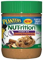 Planter Nut-rition Peanut Butter