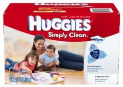 Huggies Simply Clean Wipes