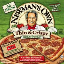 Newman's Own Pizza