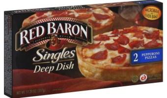Red Baron Pizza Coupon – Save $1.00